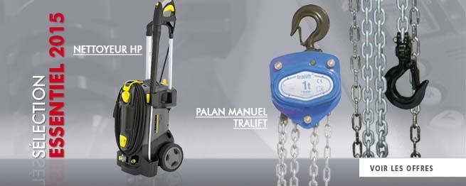 Nettoyeur HP et Palan Tralift